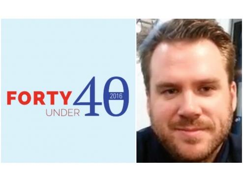 "Coach Tony Zasowski Named to ""40 Under 40"""